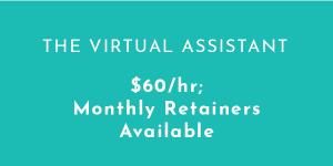 WordPress and Digital Marketing Virtual Assistant
